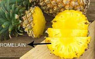 Почему от ананаса щиплет язык: как есть, чтобы не жгло