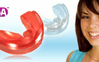 Мягкий и жесткий трейнер Т4А для выравнивания зубного ряда: конструкция