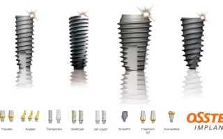 Корейские импланты Osstem (Осстем): виды продукции, отзывы, цены